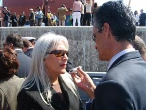 gobernadora entrevistada por oscar pardo